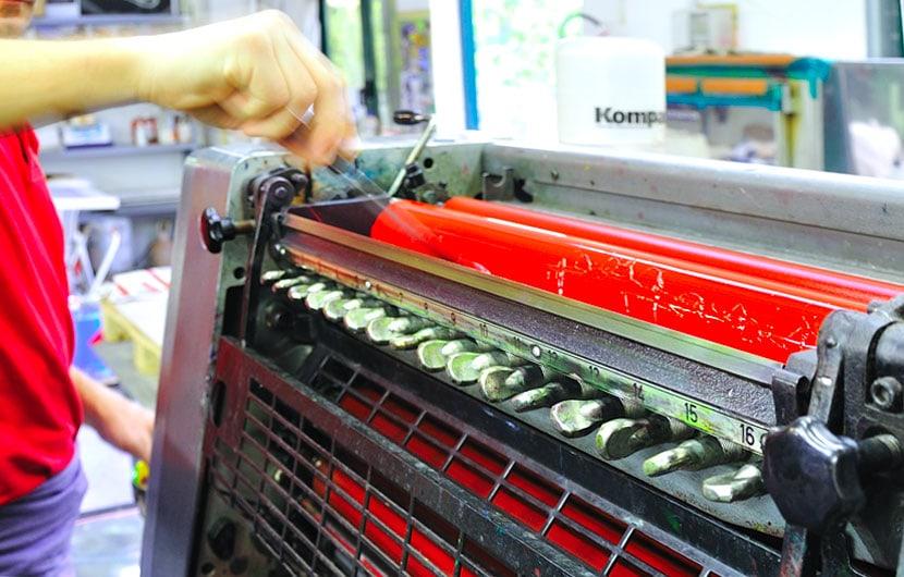 stampa uv offset UV su pvc
