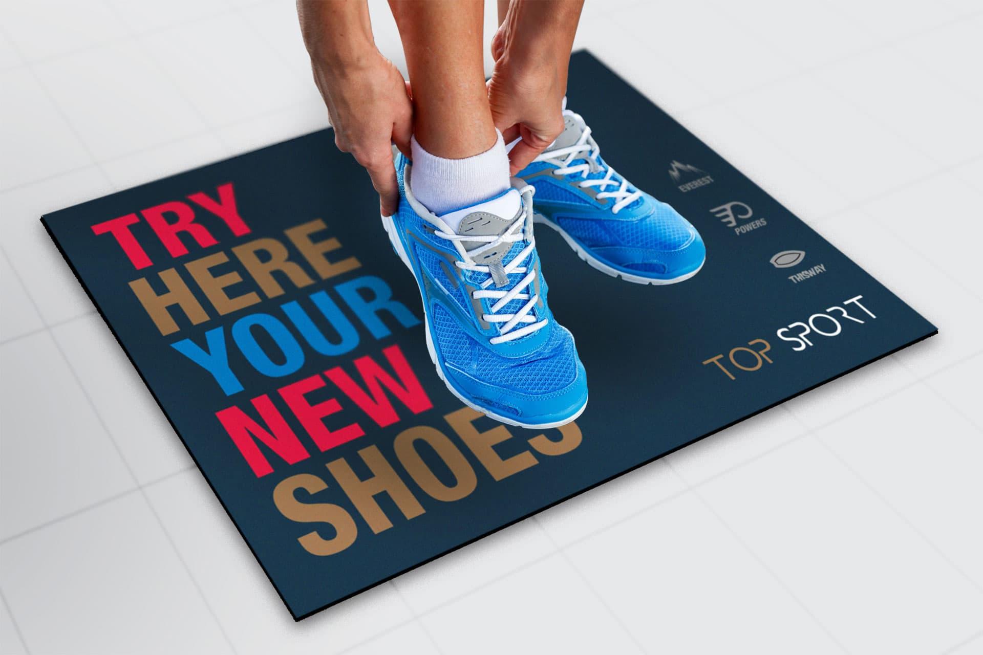 Carpet Tappeto Pad Personalizzato con il tuo logo