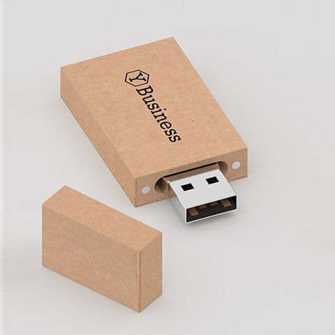 Flash Drive personalizzata in carta ecologica
