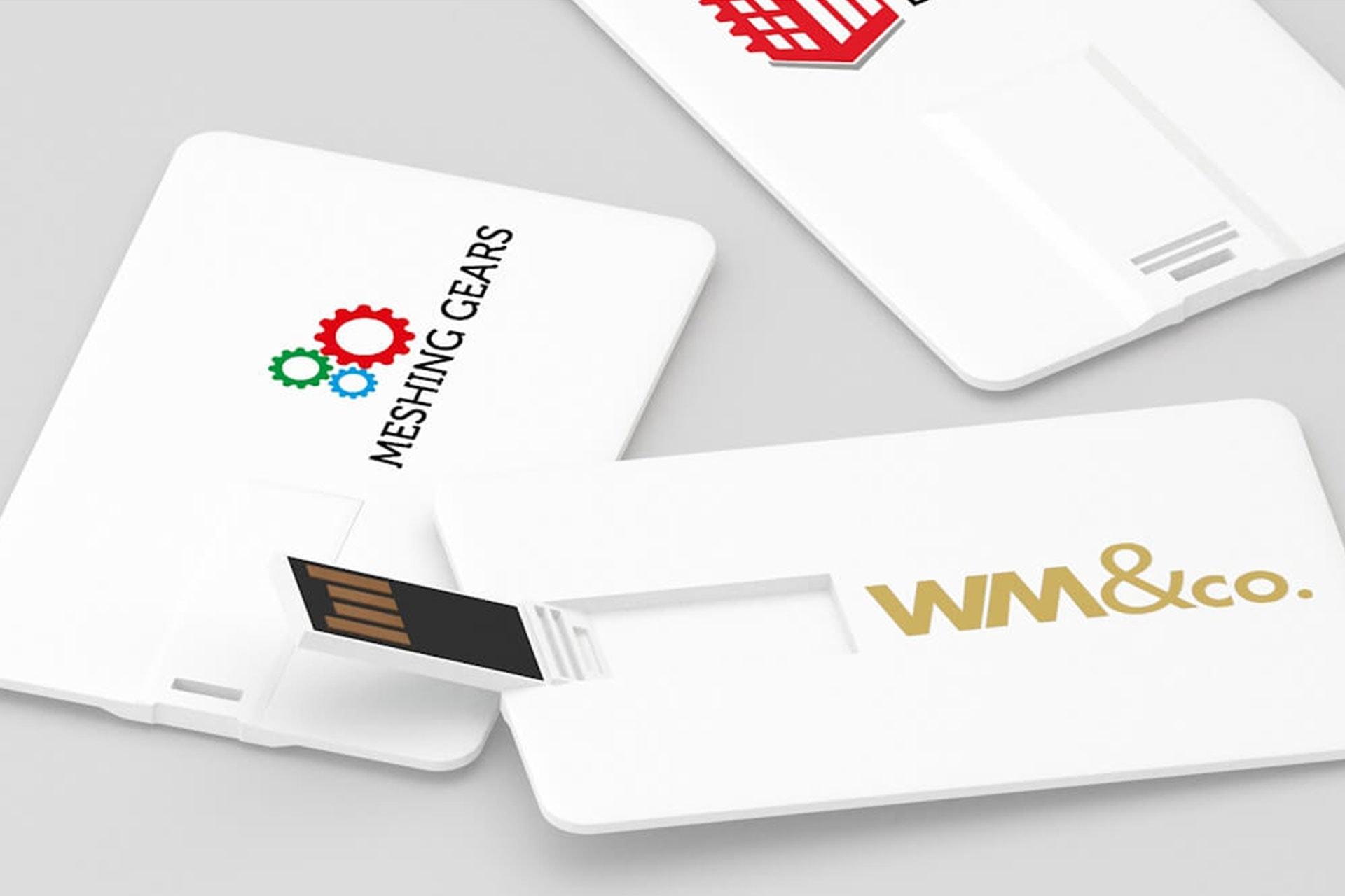 Usb personalizzata forma di card