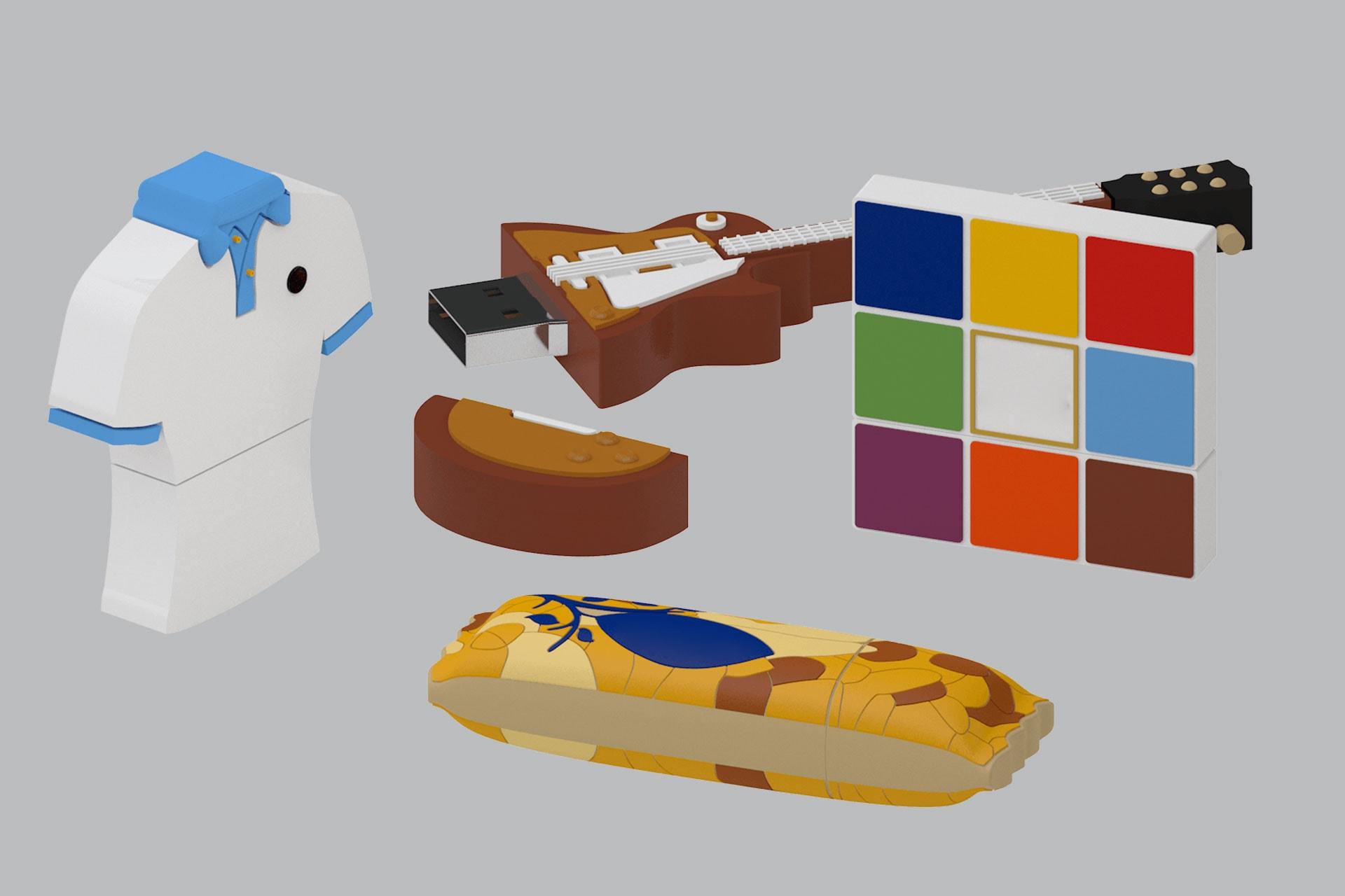 Chiavette USB con forme personalizzabili