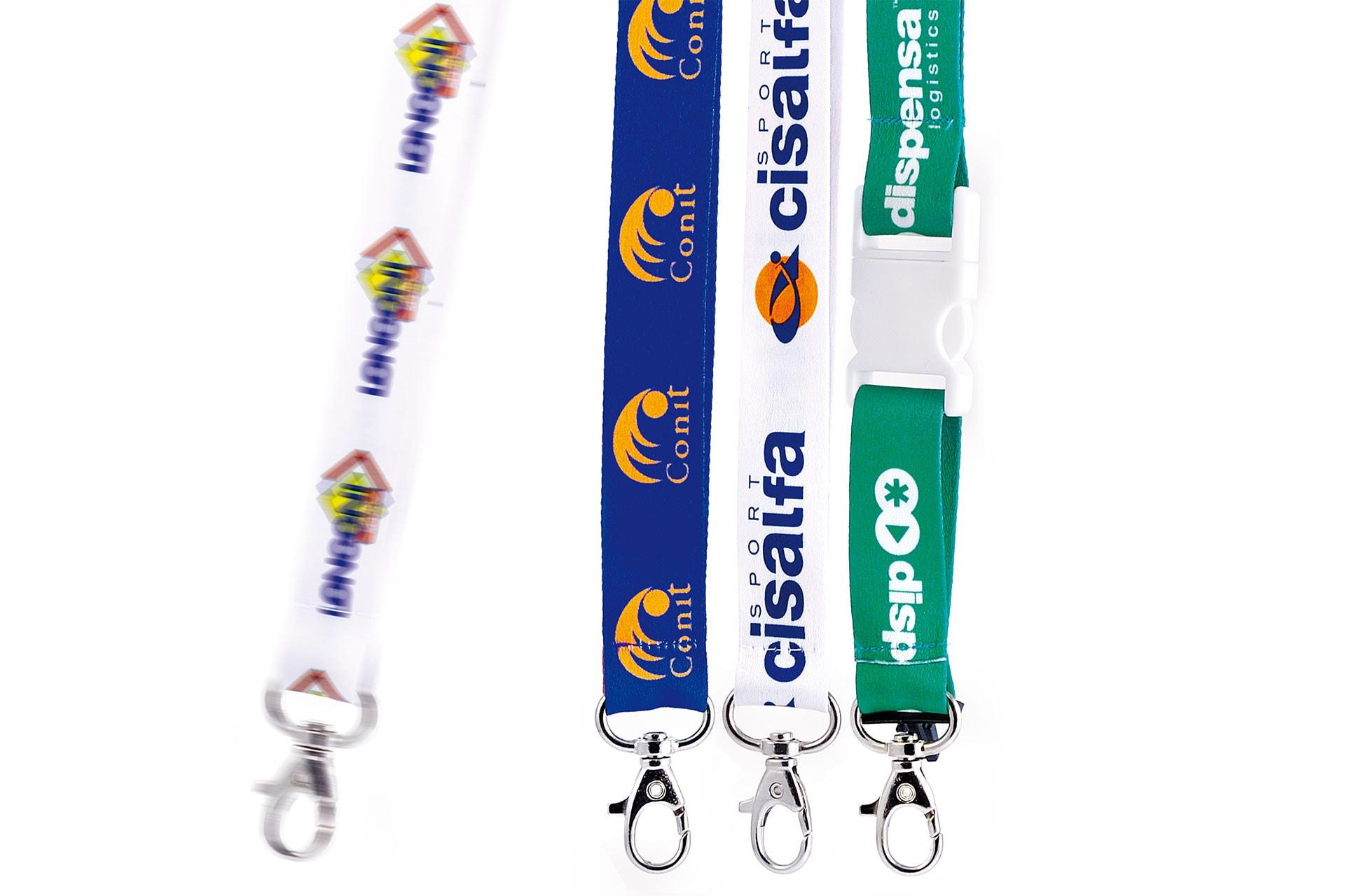 Portabadge da collo personalizzabile, lanyard personalizzato, portapass, partabadge