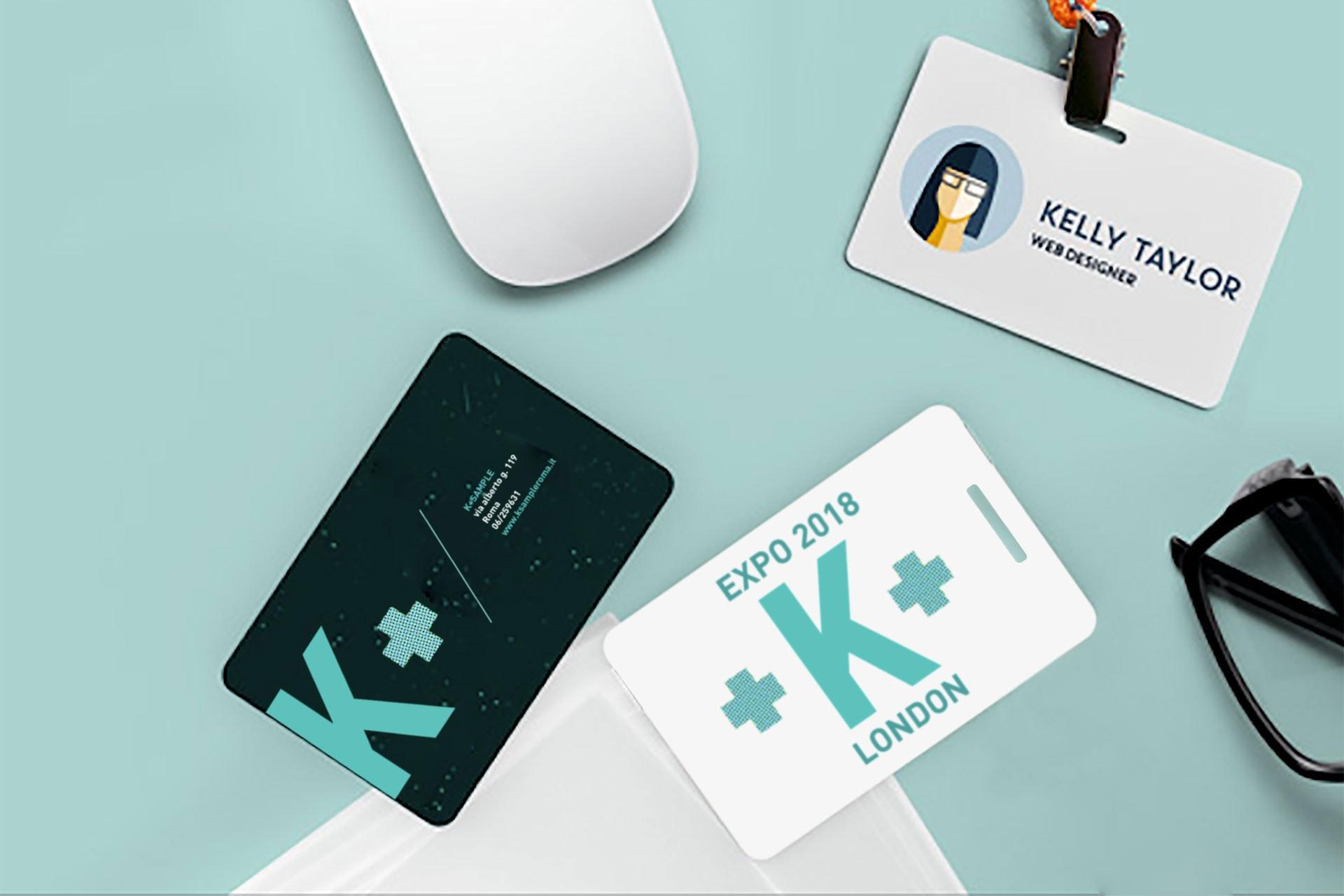 Card Tessere personalizzate pass cartellino