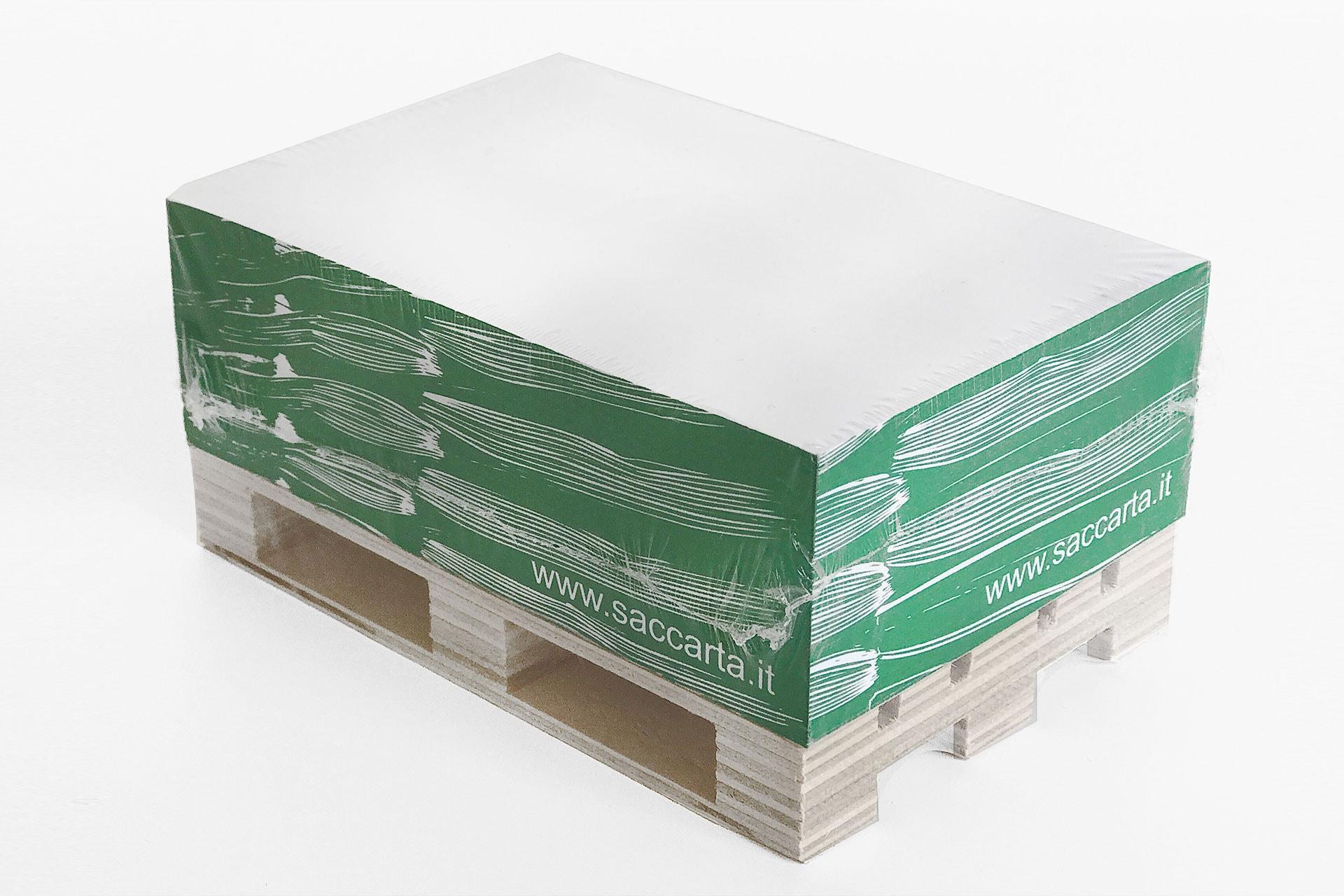 Block notes personalizzato forma bancale