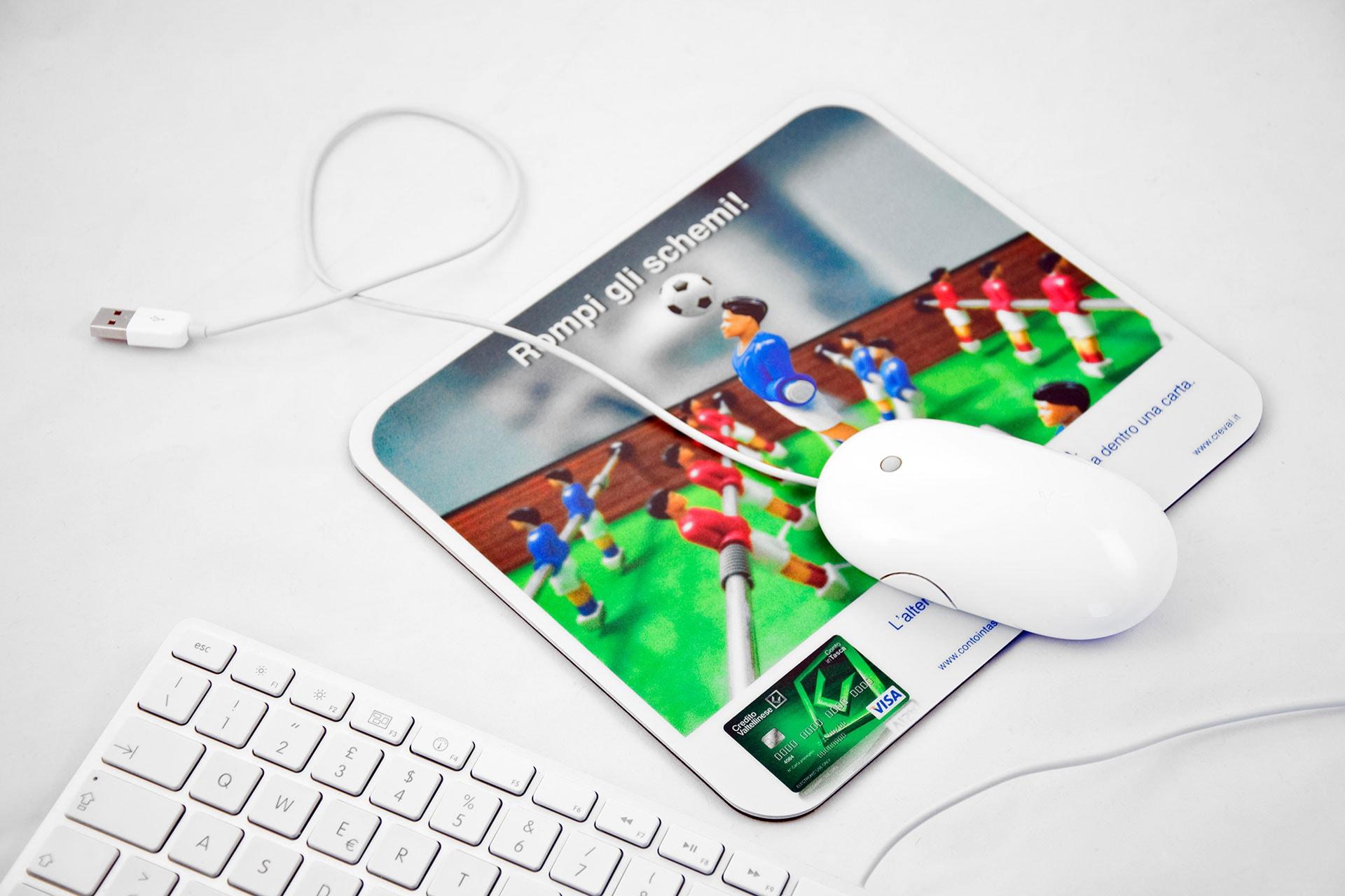 Stampa il tuo Tappetino Mouse personalizzato