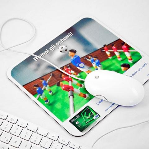 Tappetino mouse classico personalizzato