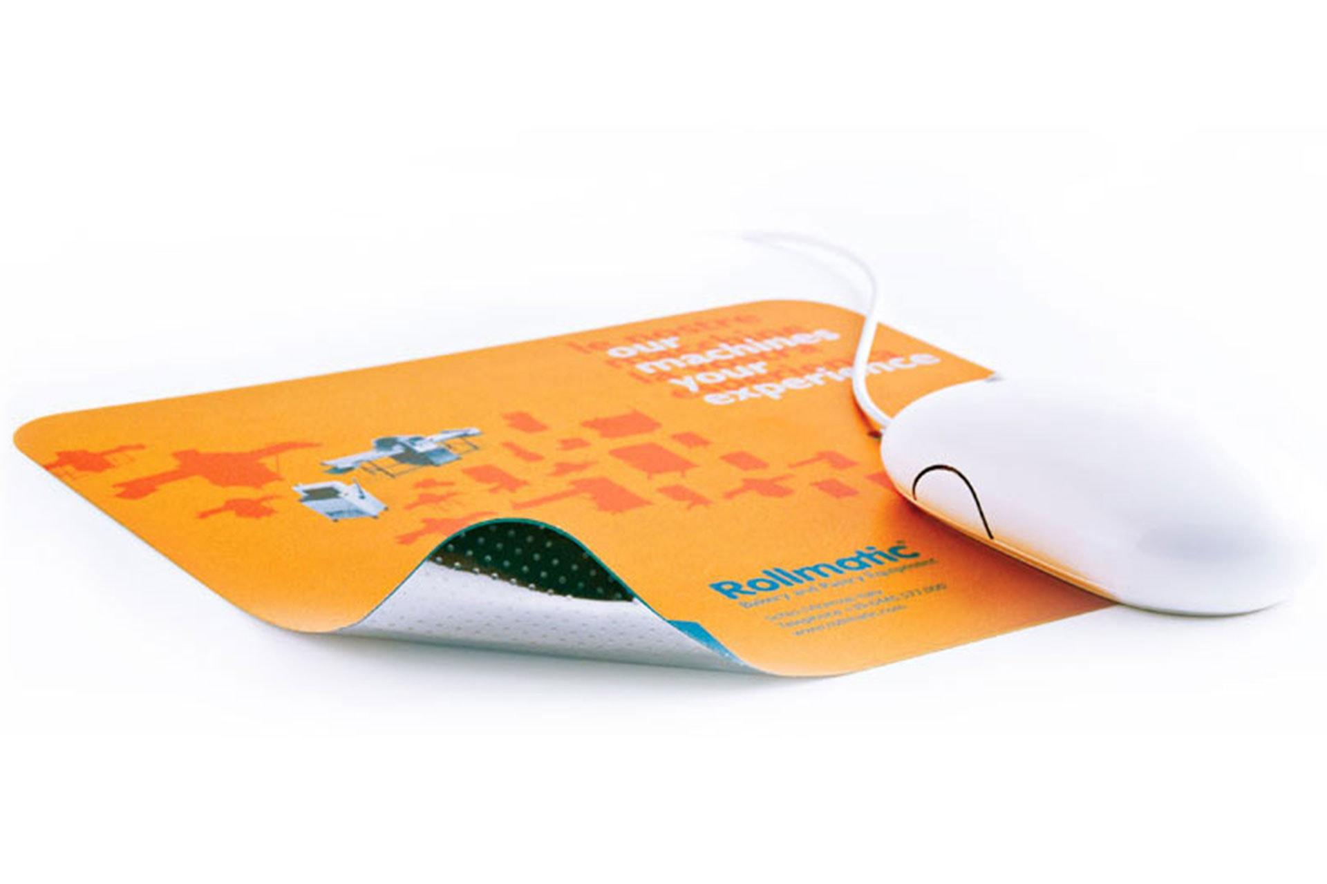 Tappetino mouse effetto metallo stampa personalizzata