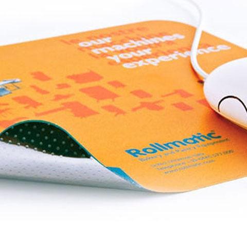 Mouse pad effetto metallico