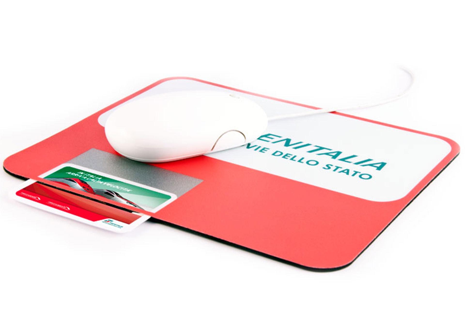 Mousepad Portacard tappetino personalizzabile