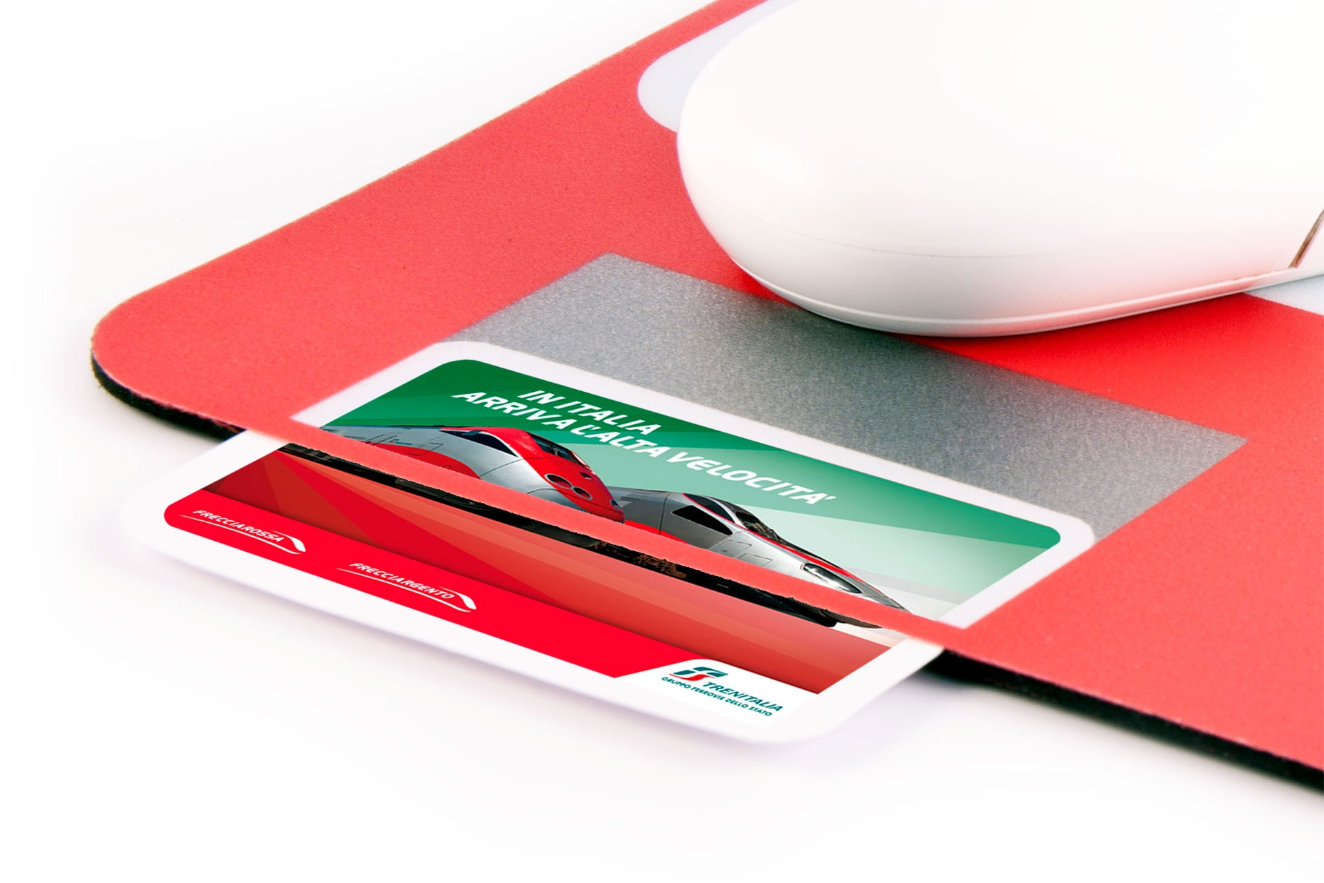 Tappetino gadget aziendale fidelity card