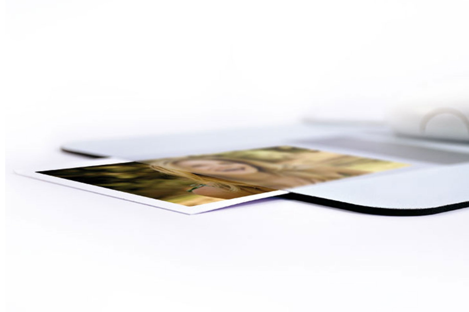 Tappetini mouse con tasca portafoto aggiornabile