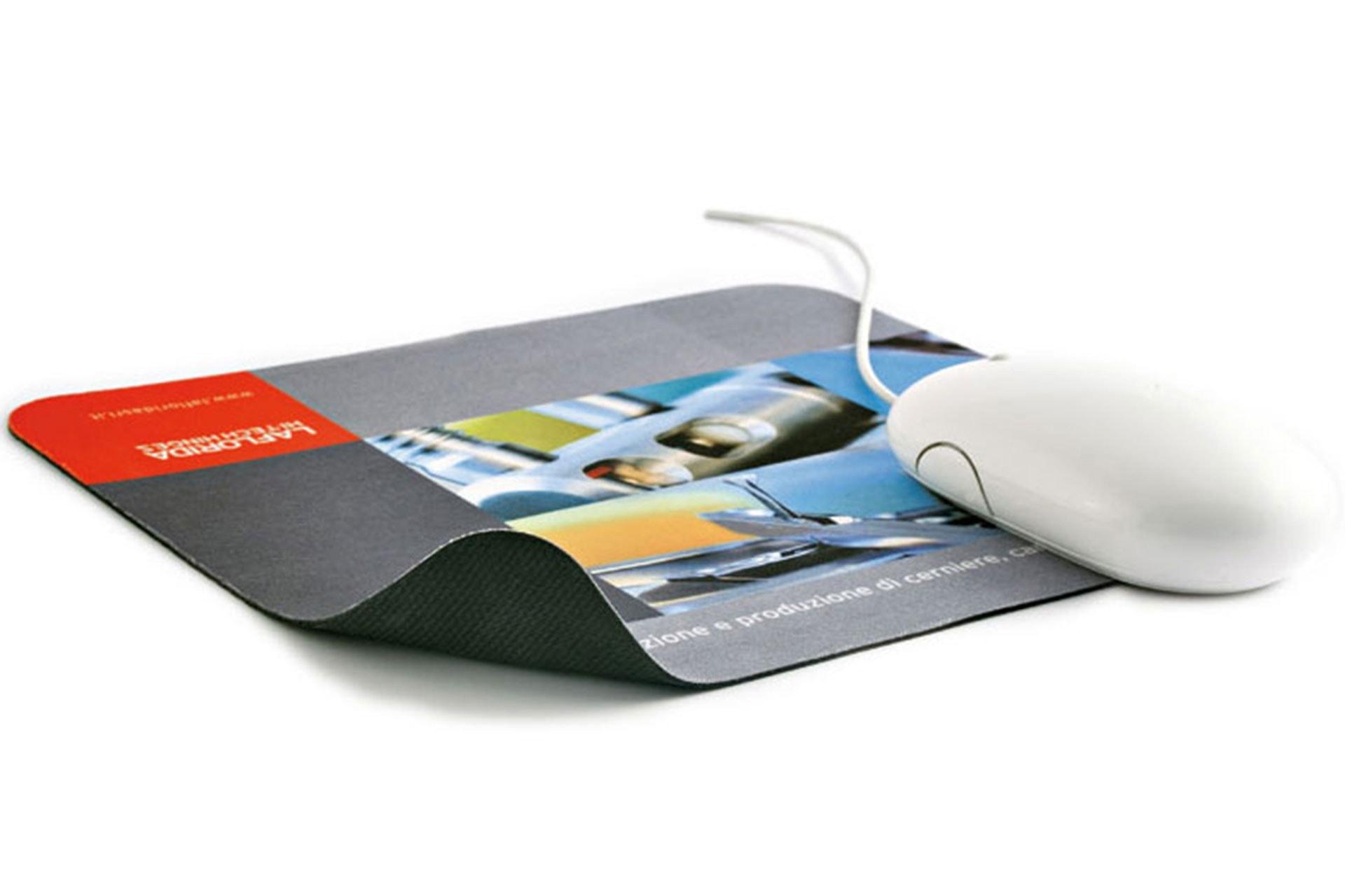 Mouse Pad in tessuto personalizzabile antiscivolo