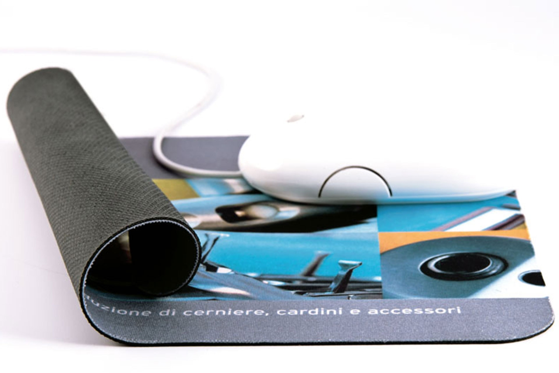 Mouse Pad in tessuto personalizzabile arrotolabile