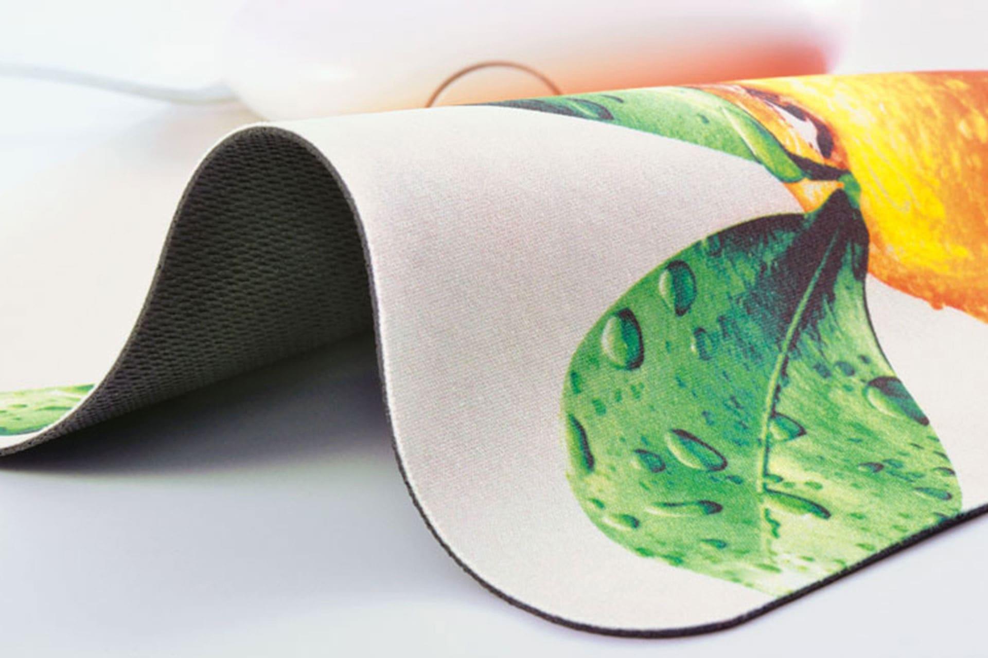 Tappetino mouse superfice in tessuto personalizzabile