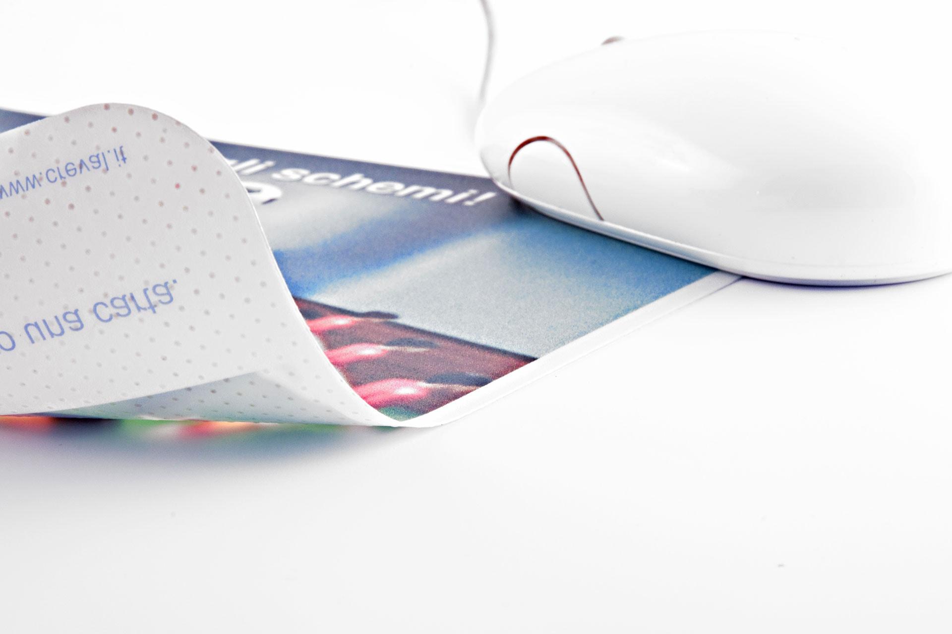 Mousepad Ultraslim sottile personalizzato antiscivolo