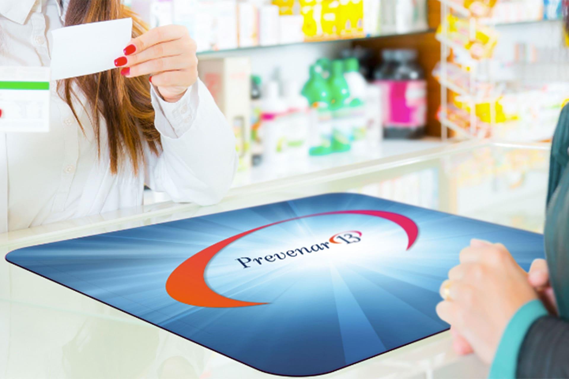 Pad da banco vendita farmacie