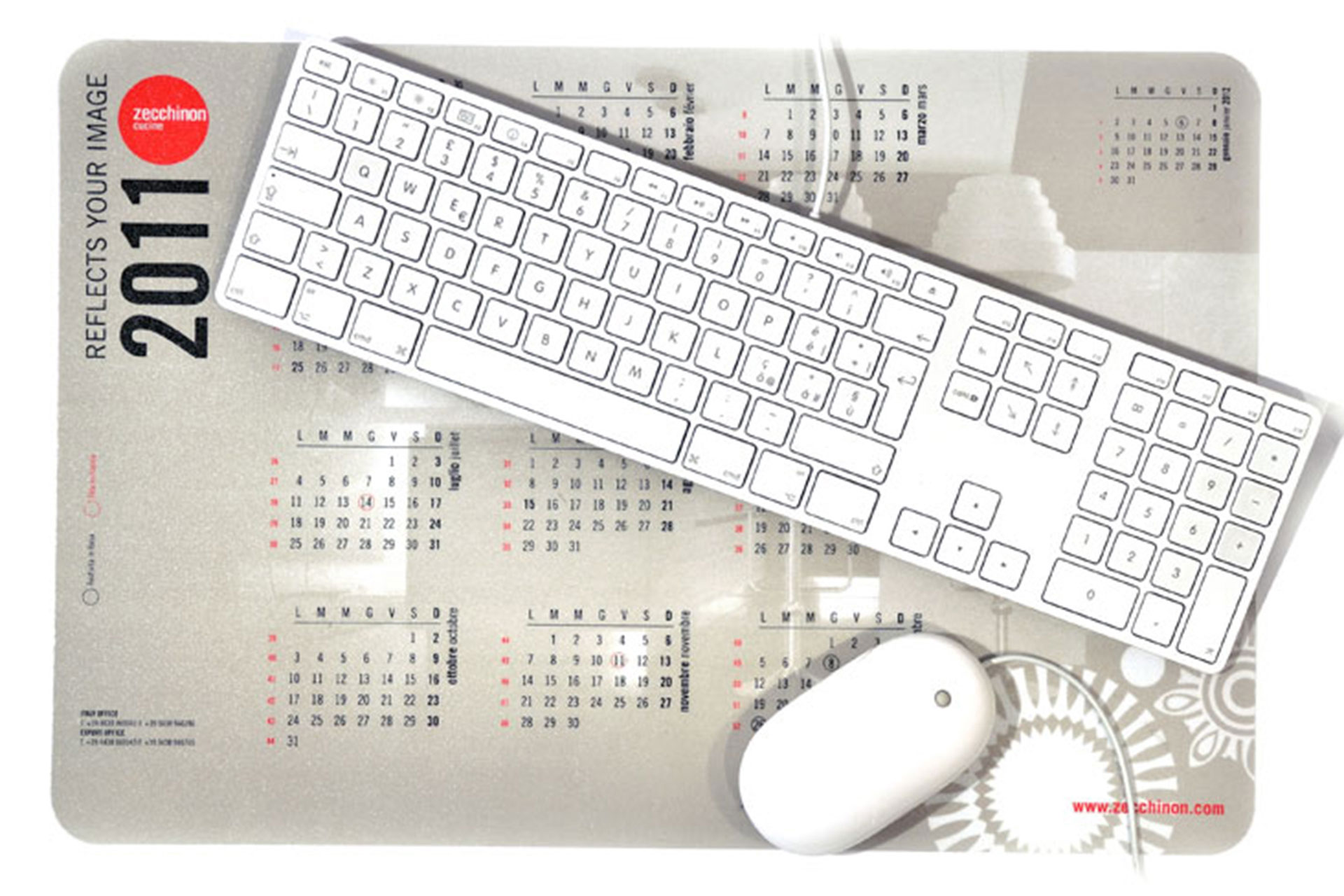 Sottomano da scrivania stampato in quadricromia