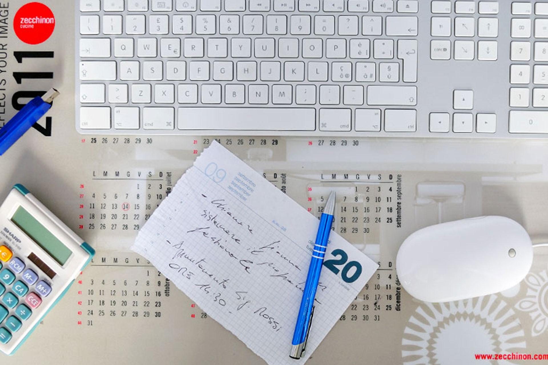 Pad da scrivania gadget aziendale