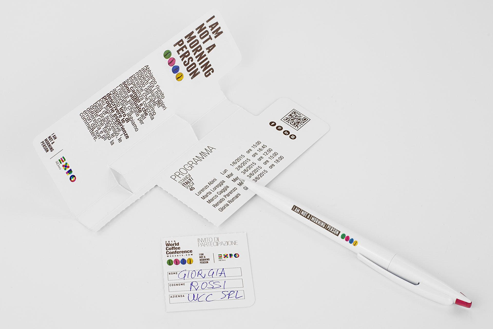 Penna gadget per fiere