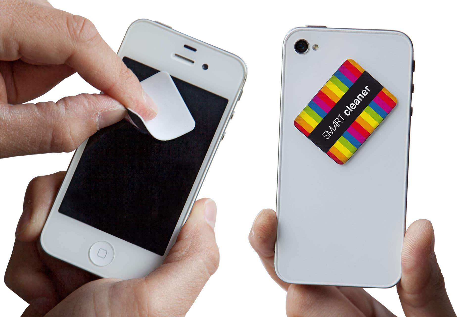 Pulisci schermo adesivo attacca stacca personalizzabile