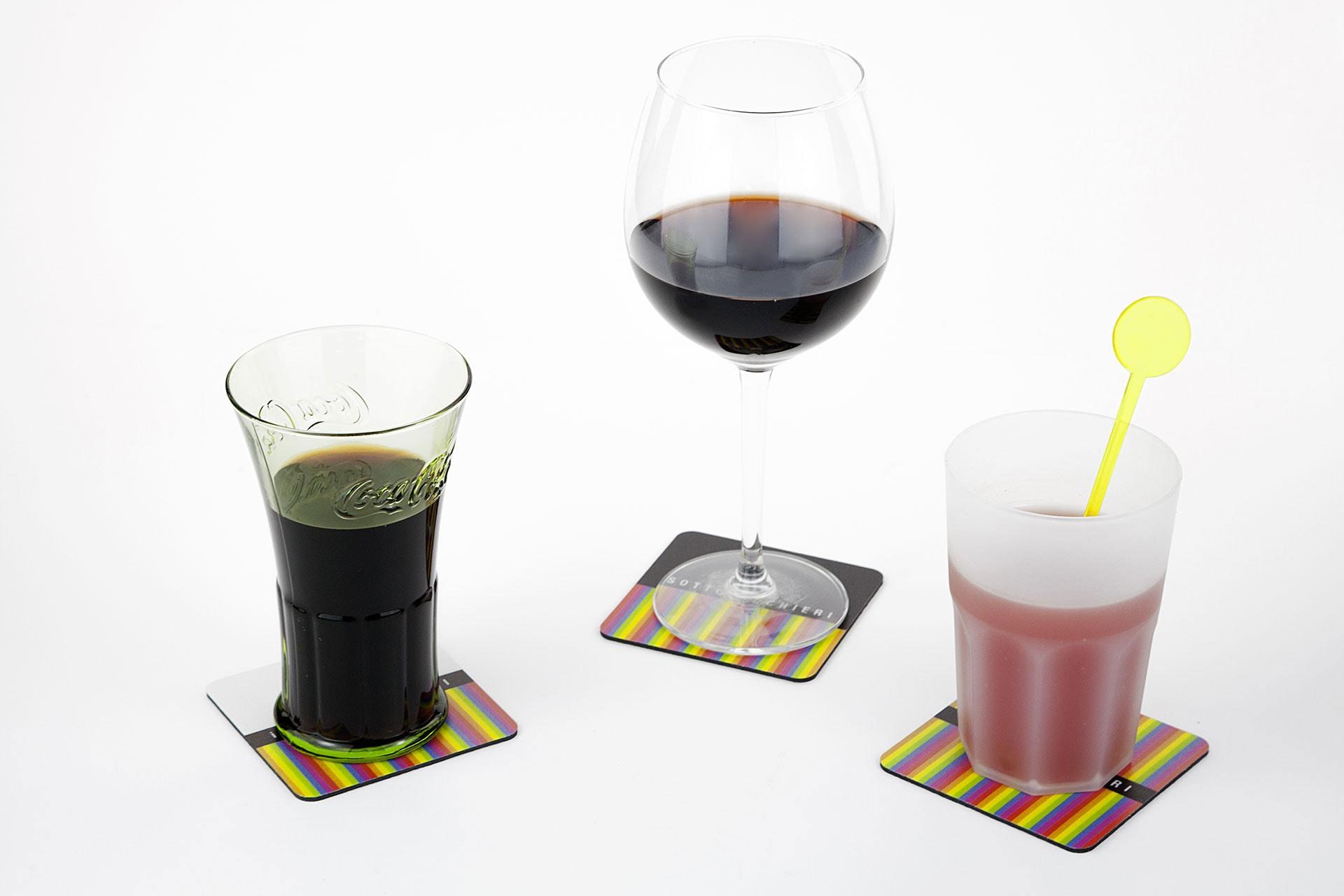 Sottobicchieri Pvc personalizzati per birra vino bibite