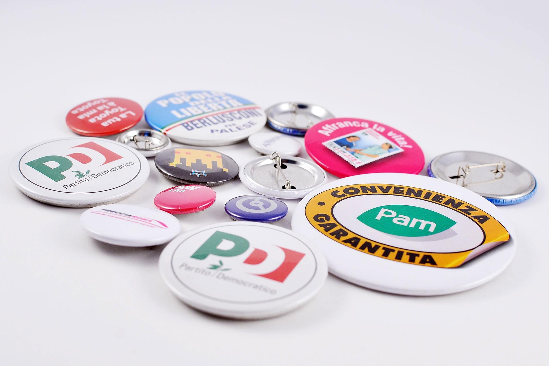 Spille personalizzate per convegni, manifestazioni, eventi