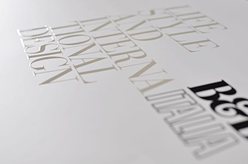 Stampa serigrafica UV trasparente conto terzi
