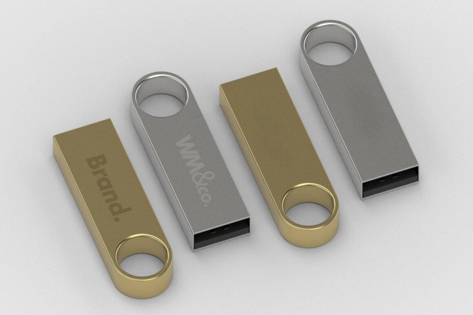 Usb in metallo personalizzabile