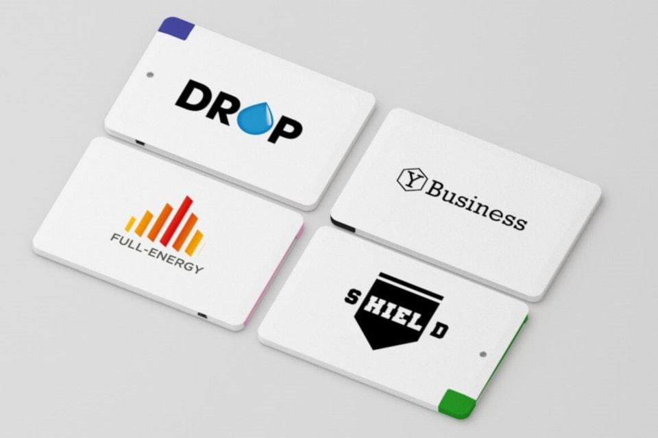 Power Bank carica batteria personalizzate forma di Card