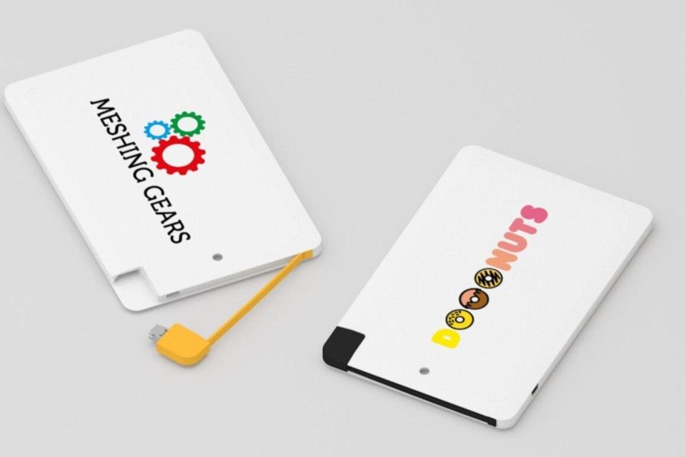Power Bank Card personalizzabile fronte e retro
