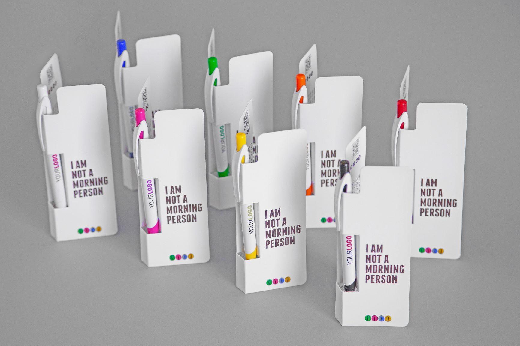 Penna con Cartoncino Personalizzato