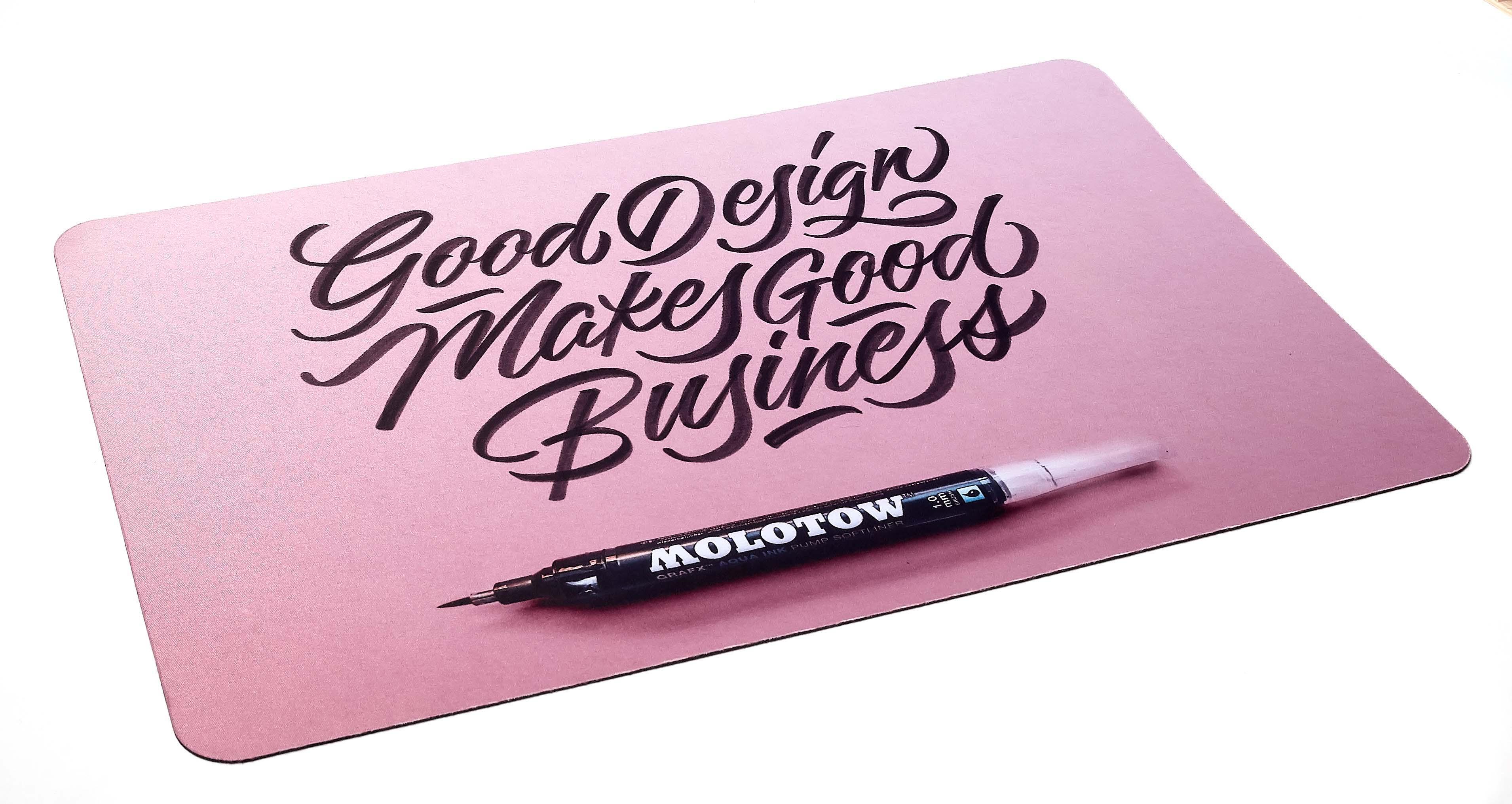 Fabric desk pad