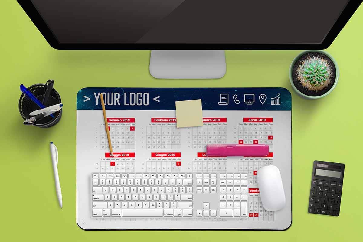 pad scrivania portadocumenti ad inserto