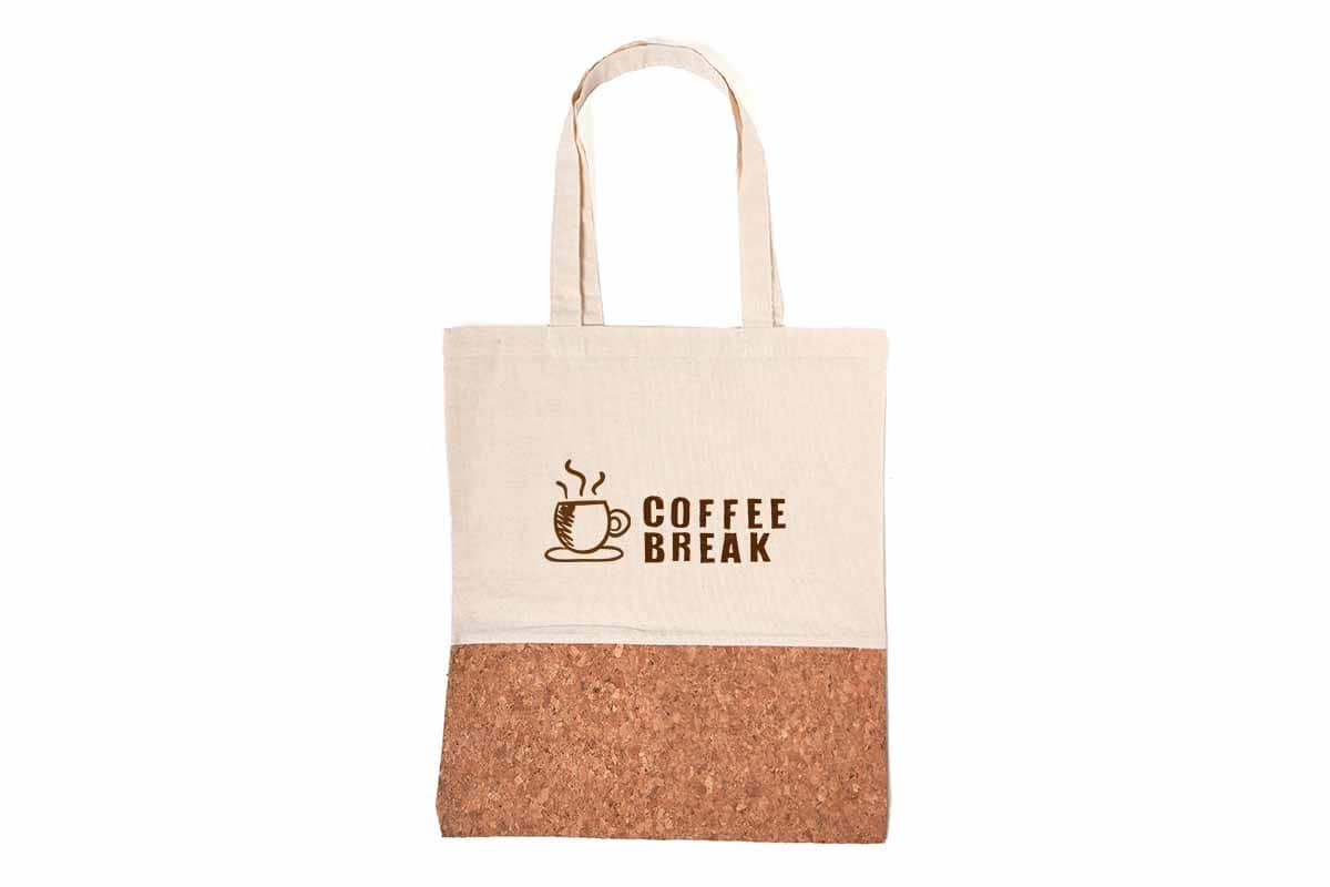 SHOPPER BAGS CORK AND COTTON