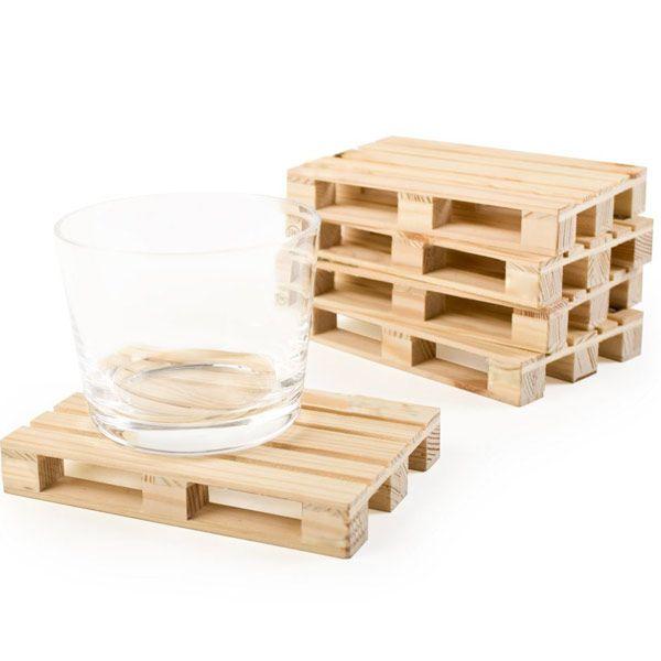 mini pallet in legno